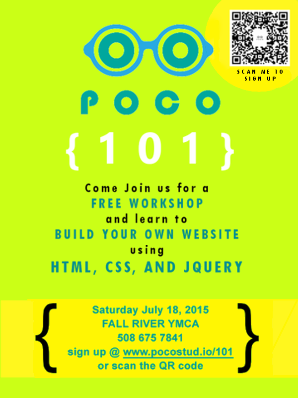 Join POCO this summer for a free workshop